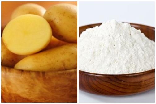 Cách trị nám tàn nhang an toàn với khoai tây và bột mì