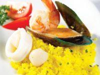 Học cách làm món cơm mimosa hải sản