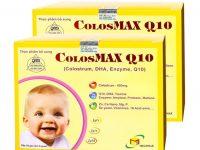 Sự thật về Colosmax Q10 thực phẩm bổ sung sữa non cho trẻ