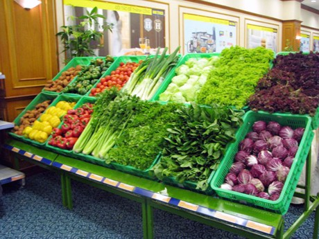 Cách chọn rau củ sạch