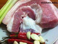 Món ăn Việt: Thịt heo xào xả ớt