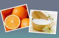 Hướng dẫn cách làm kem tắm trắng từ cam và muối biển
