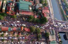 Sự gia tăng của phương tiện cá nhân là một trong những nguyên nhân tình trạng ô nhiễm ở các đô thị lớn, trong đó có Hà Nội