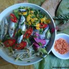 Hướng dẫn cách nấu canh chua cá linh bông điên điển, đặc sản miền tây