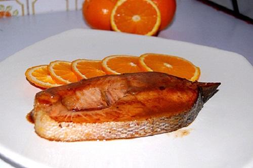 Cá hồi nước cam