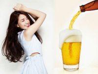 Top 2 mẹo làm đẹp tóc với bia siêu hiệu quả