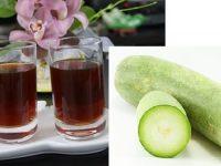 Học cách làm trà bí đao thơm ngon, bổ dưỡng