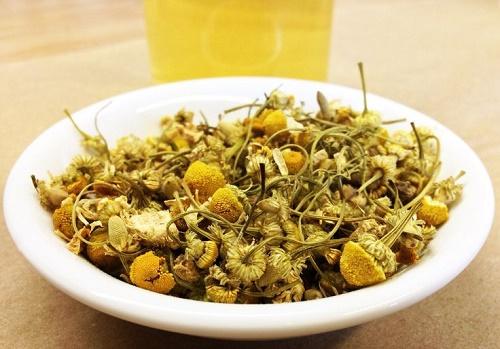 Nguyên liệu pha trà hoa cúc