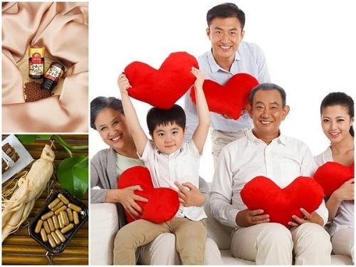 Tác dụng của hồng sâm hàn quốc với bệnh tim mạch