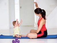 Bài tập giảm cân sinh mổ cho mẹ bầu