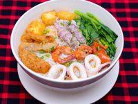 Món ngon dễ làm cuối tuần bún hải sản