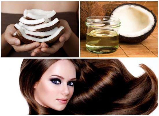Cách trị rụng tóc đơn giản với dầu dừa: