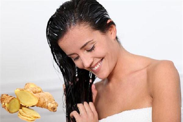 Gừng ngăn ngừa rụng tóc