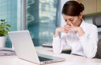 Ngồi lâu nhiều giờ ở chỗ làm