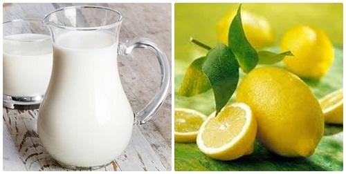 Chanh và sữa chua hỗ trợ làm trắng da tự nhiên