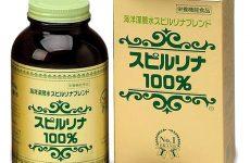 Thuốc dạng viên làm từ tảo xoắn