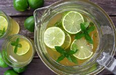Trà chanh - Thức uống làm đẹp da, giảm cân