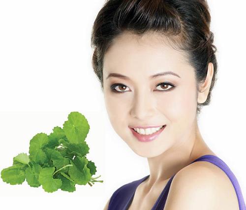 Giải pháp trị mụn thâm lâu năm bằng rau má