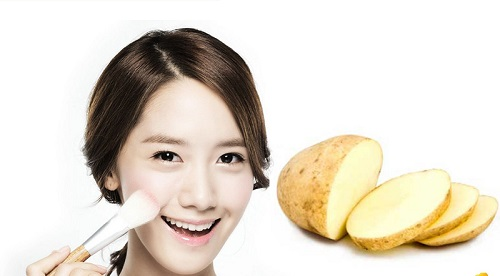 Mặt nạ khoai tây hỗ trợ điều trị nám da