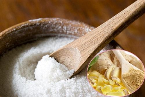cách giảm mỡ bụng bằng muối
