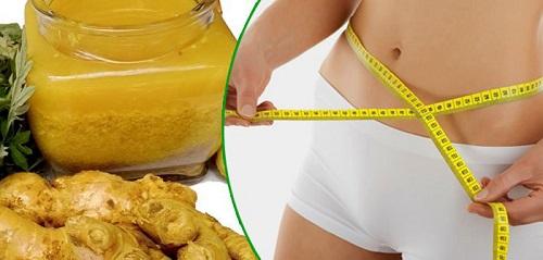 Cách giảm mỡ bụng bằng gừng