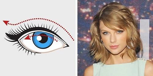 Cách kẻ eyeline mắt dài