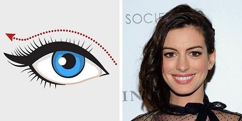 Cách kẻ eyeline cho mắt to
