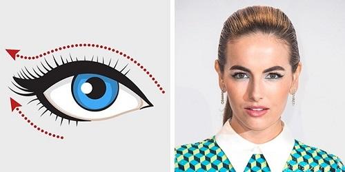 Cách kẻ mắt eyeline cho mắt sụp mí