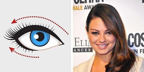 Cách kẻ mắt eyeline cho đôi mắt hạnh nhân