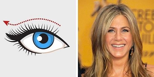 Cách kẻ eyeline hai mắt có khoảng cách gần nhau