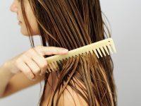 Chải tóc ướt