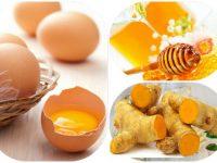 Chữa yếu sinh lý bằng trứng gà và mật ong