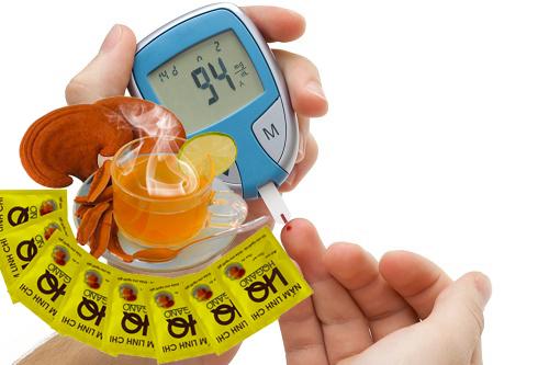 Điều trị bệnh tiểu đường bằng nấm linh chi hqgano