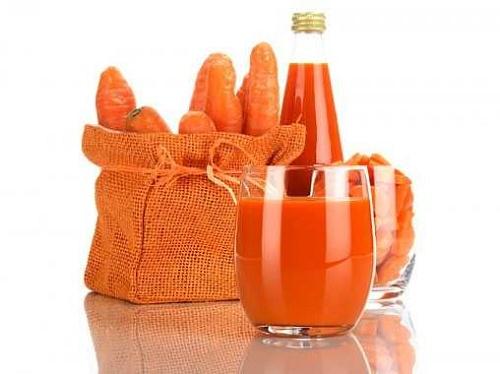 Giải độc gan bằng nước ép cà rốt