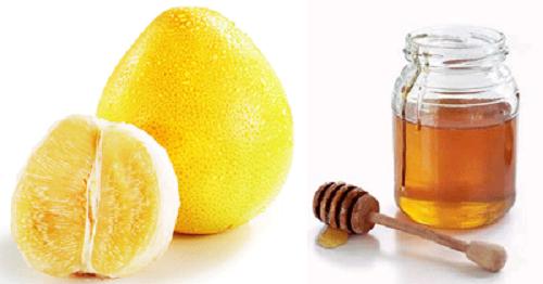 Giảm cân bằng mật ong và trà bưởi