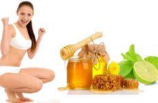 Giảm cân nhờ chanh, mật ong và nước ấm