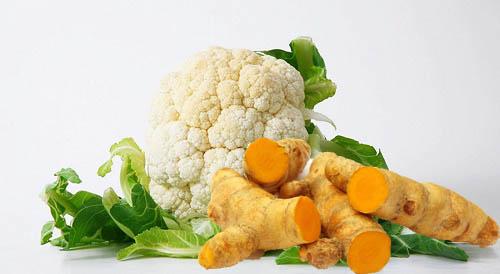 Mối liên kết giữa súp lơ trắng và nghệ vàng