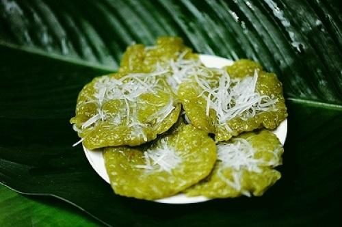 Cốm món ăn đặc sản của Hà Nội