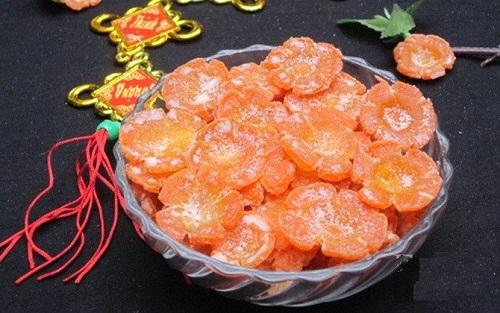 Mứt cà rốt món ăn ngày Tết
