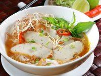 Bún chả cá món ăn ngon Nha Trang