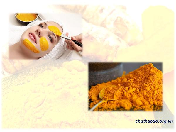 Bột nghệ vàng kết hợp với sữa tươi trị nám da an toàn và dưỡng ẩm hiệu quả
