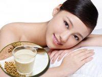TOP 3 công dụng hữu ích của sữa đậu nành đối với làm đẹp phụ nữ