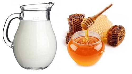 Trị rụng tóc bằng mật ong và sữa
