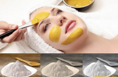 3 Bí quyết dùng tinh bột nghệ đen trị nám da tại nhà