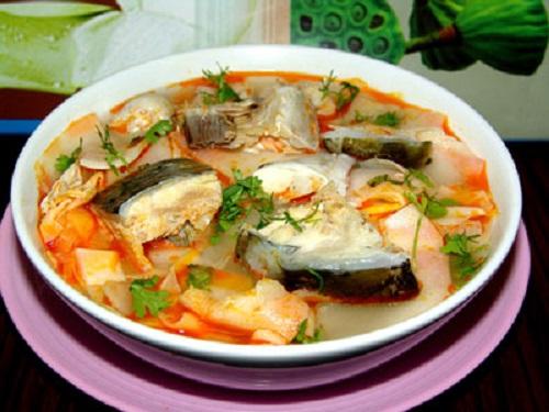 Cách nấu canh măng chua cá hú