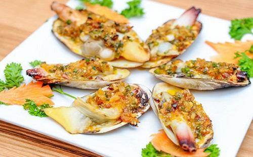 Tu hào món ăn hải sản tăng cường sinh lý cực hiệu quả