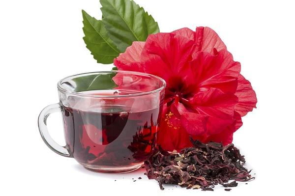 Trà hoa dâm bụt giúp giảm cân tự nhiên
