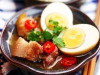 Cách nấu thịt kho tàu ngày Tết