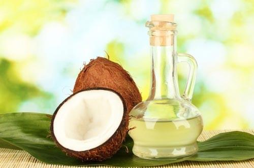 Cách tẩy trang bằng dầu dừa