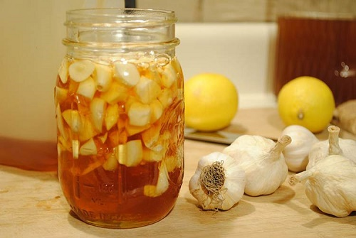Chữa ho bằng mật ong và tỏi